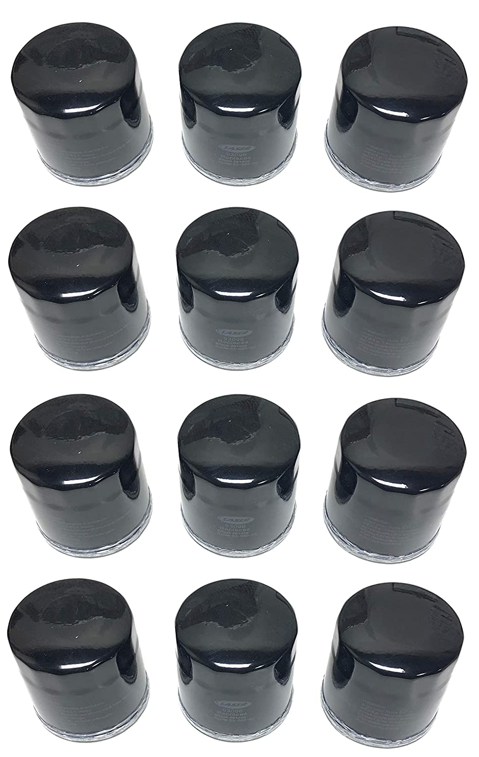 Rotary Shop Pack (12) Replacement Oil Filter for Kohler 52-050-02, 52-050-02-S
