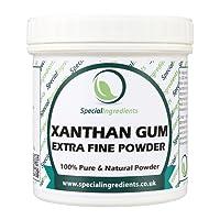 Goma Xantana (polvo del extrafine) 100g - (etiquetas e instrucciones del español)