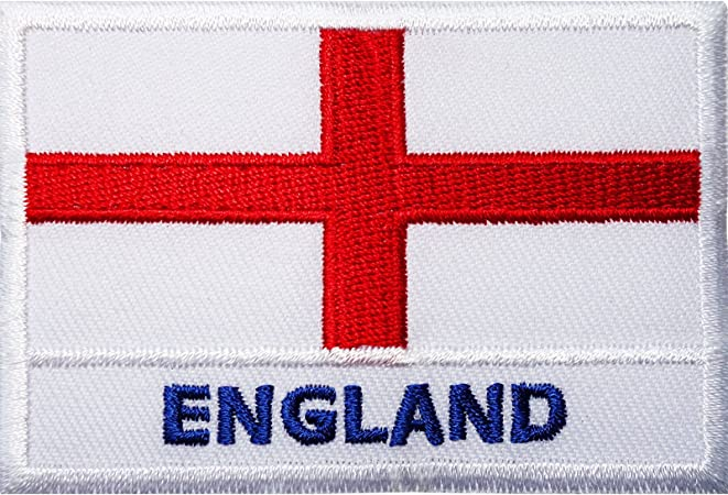 GLOUCESTERSHIRE England County Flag Embroidered Iron On Sew On Patch Badge
