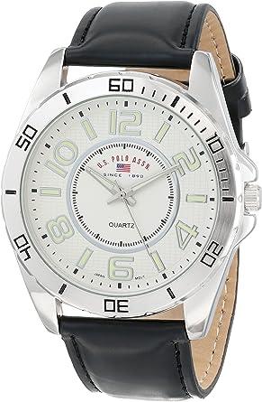 U.S.POLO ASSN. US5162EXL - Reloj de Pulsera Hombre, Color Negro ...