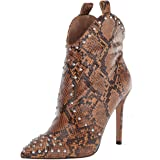Jessica Simpson Womens Pixillez 3 Pull On Pointed Toe Ankle Boots