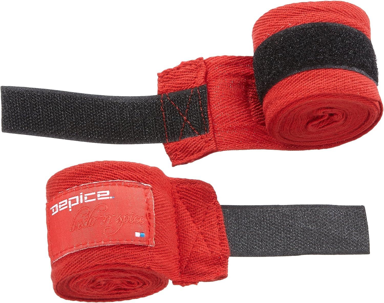 DEPICE - Vendaje elástico para Boxeo Rojo Rojo Talla:Talla única: Amazon.es: Deportes y aire libre