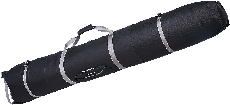 AmazonBasics - Bolsa de esquí con acolchado doble (185 x 30 x 18 cm) ZH1707003