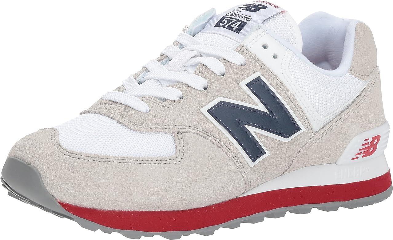 new balance hombre blanco