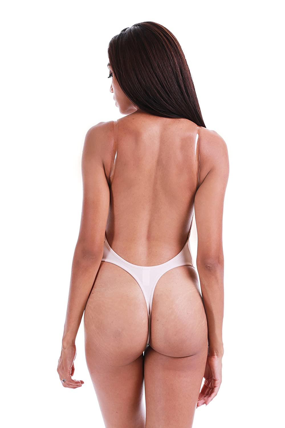 bbc9f54330 Plunge Backless Thong Bodysuit (29064) (L