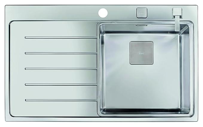 Teka 13139004 Zenit R15 1C 1E 86 Pro - Fregadero con Accesorios, 1 Cubeta, Acero Inoxidable, Versión Derecha, 86 x 52 x 50 cm: Amazon.es: Bricolaje y ...