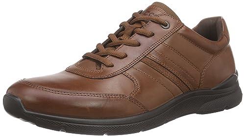 Ecco Irving - Zapatos, Hombre, Marrón (MAHOGANY2195), 43