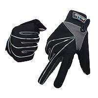 Deals on Mersuii Full Finger Touch Screen Bike Gloves for Men and Women