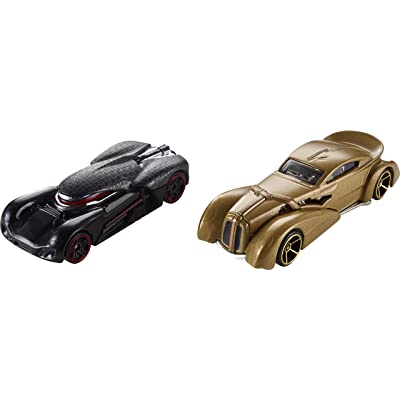 Hot Wheels Star Wars Snoke & Kylo Ren Vehicle, 2 Pack: Toys & Games