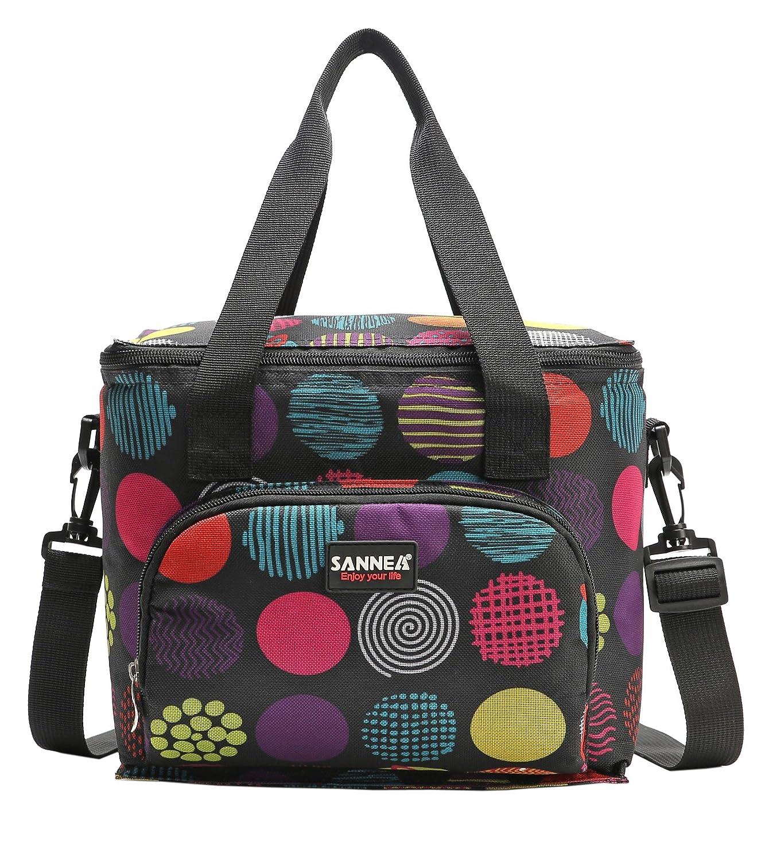 Yvonnelee 10L Nevera portátil Bolsa para el Almuerzo Lunch Bag ...