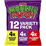 Mega Monster Munch Variety Snacks, 12 x 22 g