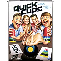 Spin Master Games 6046625 Quick Cups, Match ?n? Stack Family Game for Kids Aged 6 and Up