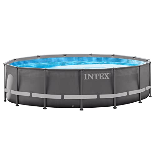 Intex 14ft x 42in Ultra Frame Pool Set with Filter Pump