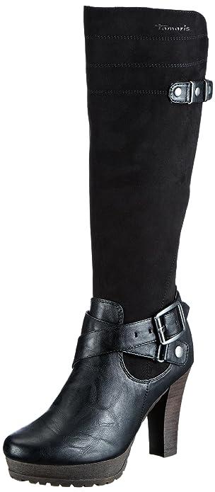 Damen StiefelettenSchwarzblack Tamaris Stiefelamp; Tamaris Trend XukPZi