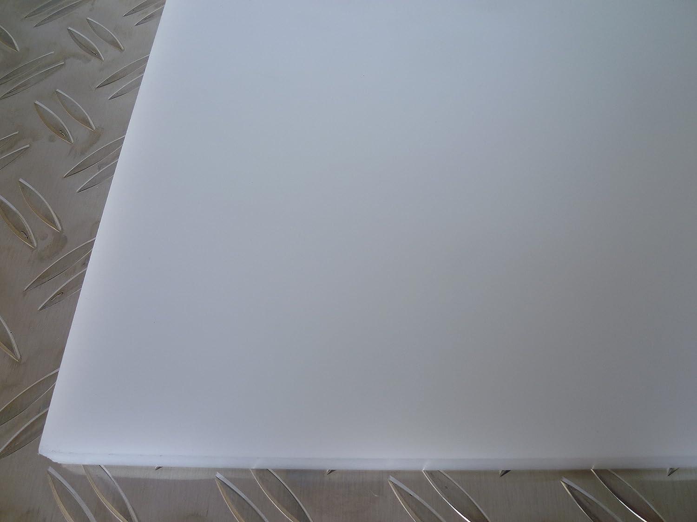 ertacetal, Delrin/® B /& T m/étal Naturel//Blanc//Pom C Plaques 20,0/mm d/épaisseur polyoxym/éthyl/ène en D/écoupe