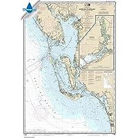 NOAA Chart 11426: Estero Bay to Lemon Bay: Including Charlotte Harbor; Continuation of Peace River, 33.7 X 48.3…