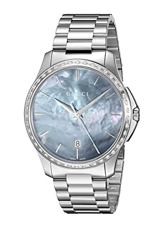 f865e9ae3df Image Unavailable. Image not available for. Color  Gucci  G-Timeless  Quartz  Stainless Steel ...