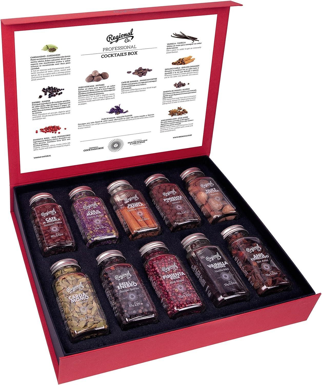 Kit de Cócteles Profesional con Botánicos & Especias Regional Co 495 GR - Cocktail Botanicals & Spices