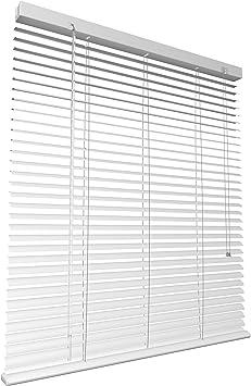 Levivo Persiana de Aluminio, Metal, Blanco, 60 x 130 cm: Amazon.es ...