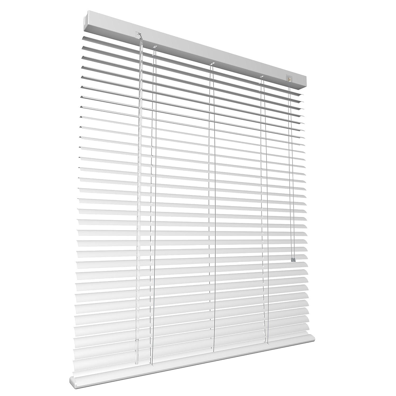 visibilità Bianca, 40x220 cm S SIENOC Veneziane in Alluminio Veneziane da Interno per Privacy e Protezione,con Clip e Cordino di Sicurezza Kit Protezione dalla Luce e ai Raggi Solari