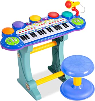Best Choice Products 37-Key Electronic Toy Keyboard Piano For Kids