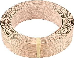 Edge Banding, HAKZEON 3/4 Inch X 164 Ft Roll Birch Plywood Edge Supply Self-Adhesive Wood Veneers Edgebanding Preglued for Cabinet Repair Furniture Restoration Easy DIY Application