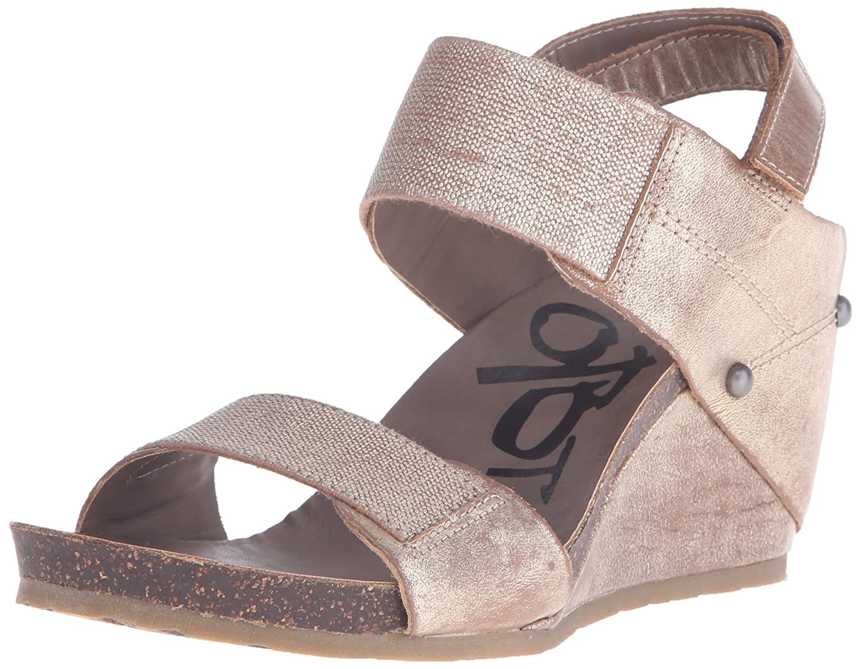 OTBT Women's Trailblazer Wedge Sandal B011T0ZGHG 7 B(M) US Gold