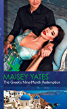 The Greek's Nine-Month Redemption (Mills & Boon Modern) (One Night With Consequences, Book 21)