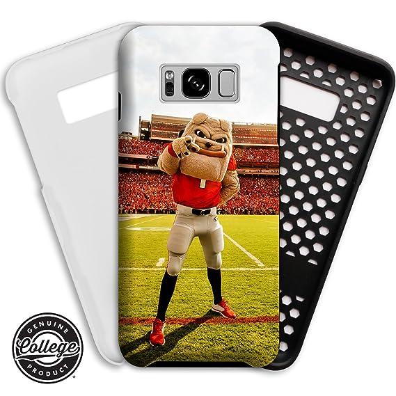 big sale 53ff9 616ca Amazon.com: UGA Georgia Bulldogs Phone Case: Compatible with Samsung ...