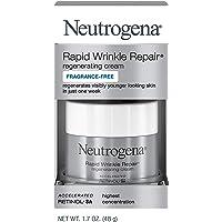 Neutrogena Rapid Wrinkle Repair Cream 1.7 Ounce Fragrance-Free (50ml) (2 Pack)