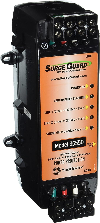 Surge Guard 35550 50 Amp RV Surge Protector