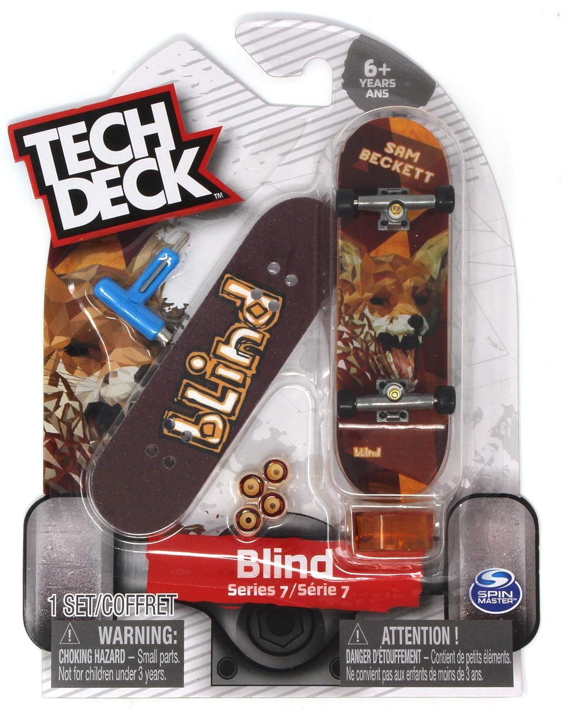 Tech Deck Blind Skateboards Rare Series 7 Sam Beckett Fox Fingerboard 20089669