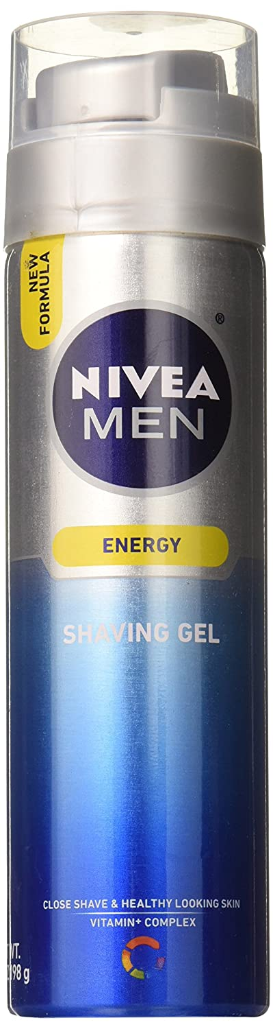 Nivea Nivea for Men Q10 Double Action Revitalizing Shaving Gel 207 ml Nivea Men BE-107