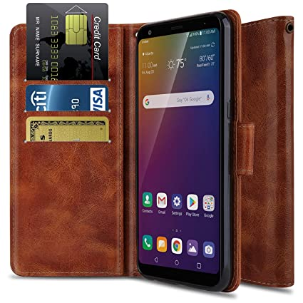 Wallet Case for LG Stylo 5, LG Stylo 5 Phone Case OTOONE [Flip Folio] Heavy Duty Shock Proof PU Leather Wallet Card Slot Protective Phone Cover with ...