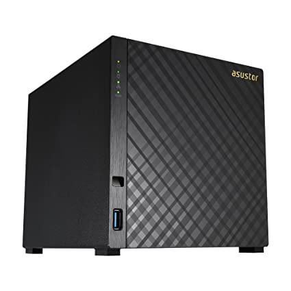 Asustor AS3204T v2   Network Attached Storage + Free exFAT License   1 6GHz  Quad-Core, 2GB RAM   Personal Private Cloud   Home Media Server (4 Bay