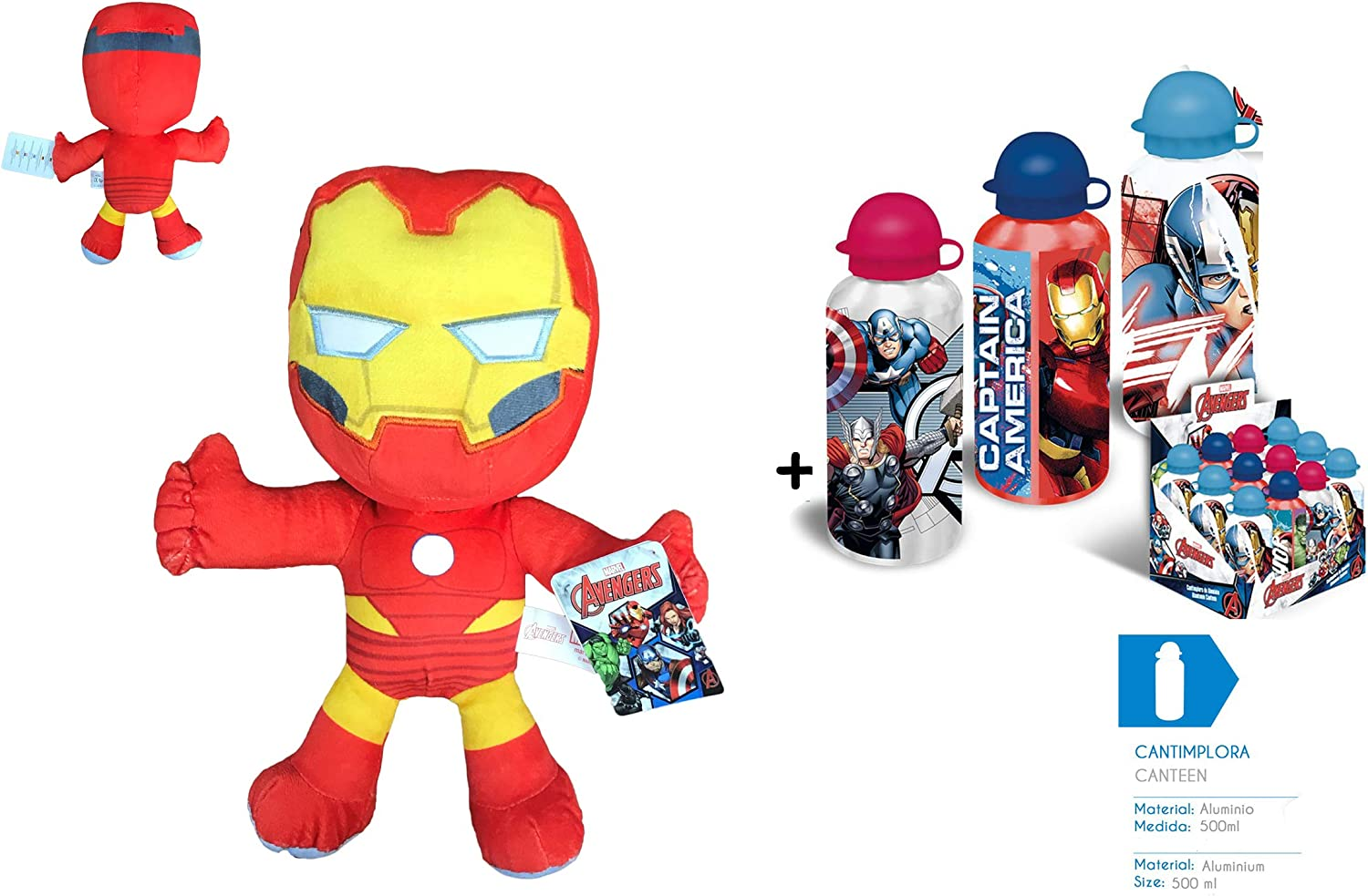 AVNGRS Los Vengadores (The Avengers) - Pack Peluche Iron Man 11