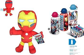 AVNGRS Los Vengadores (The Avengers) - Pack Peluche Iron Man 11 ...