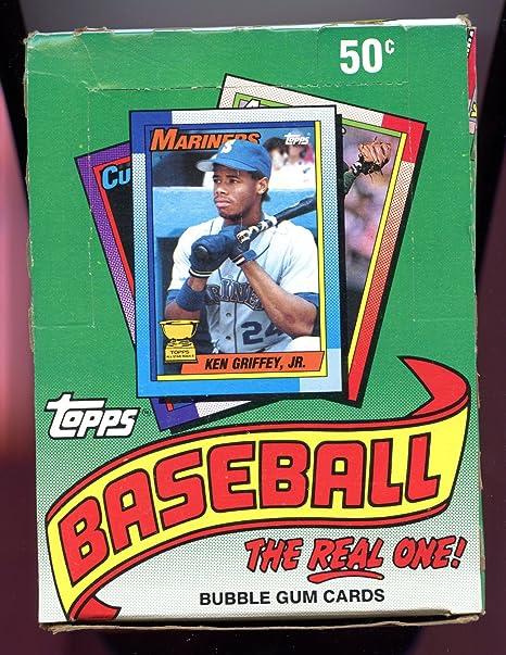 1990 Topps Baseball Cards Box 36 Packsbox Possible Sosa Thomas Rookies