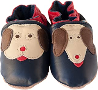 product image for YIP & YAP Handmade in USA, All-Natural Leather Baby Shoes.