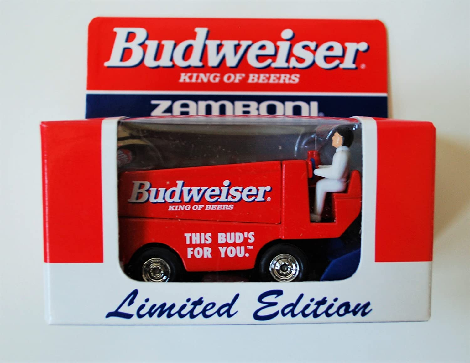 1999 Limited Edition Collectible 1:50 Scale Diecast BUDWEISER Zamboni