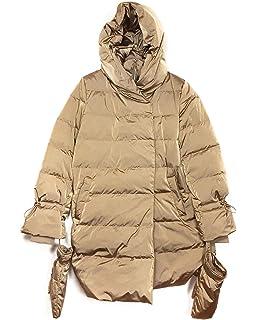 635f87c1 Zara Women's Down Puffer Coat with Wraparound Collar 8073/733 Brown