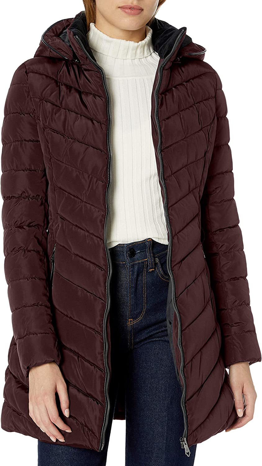 Nanette Lepore Women's Long Puffer Coat