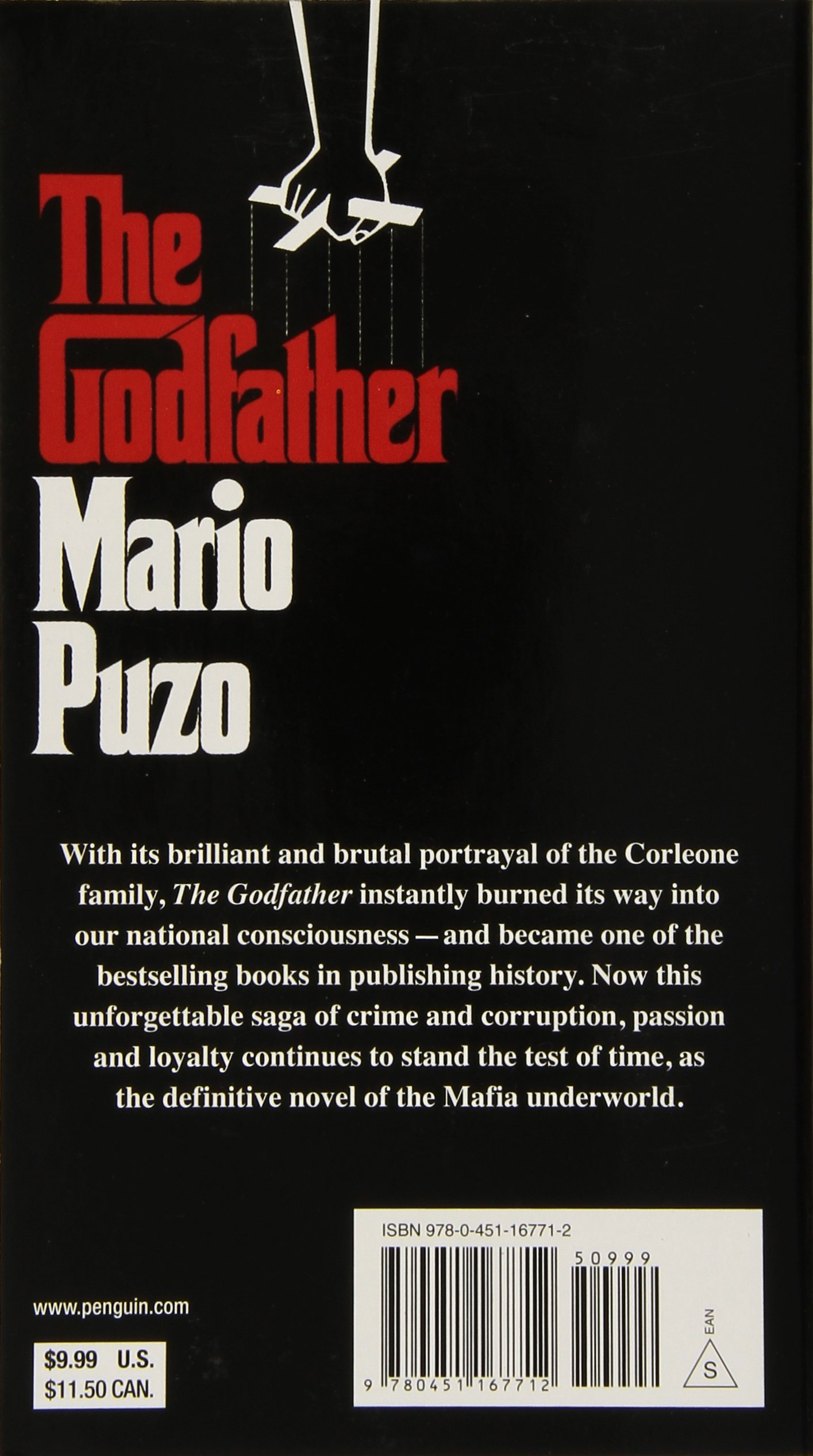 the godfather essays Characters: vito(protagonist): the godfather presents vito as the paradigmatic mafia don he is wise and intelligent, an excellent reader of others.