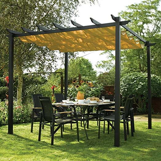 Free Standing Sun Canopy Easy To Assemble