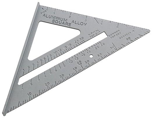 11 opinioni per Am-Tech- Squadra in alluminio professionale, con unità di misura metriche e