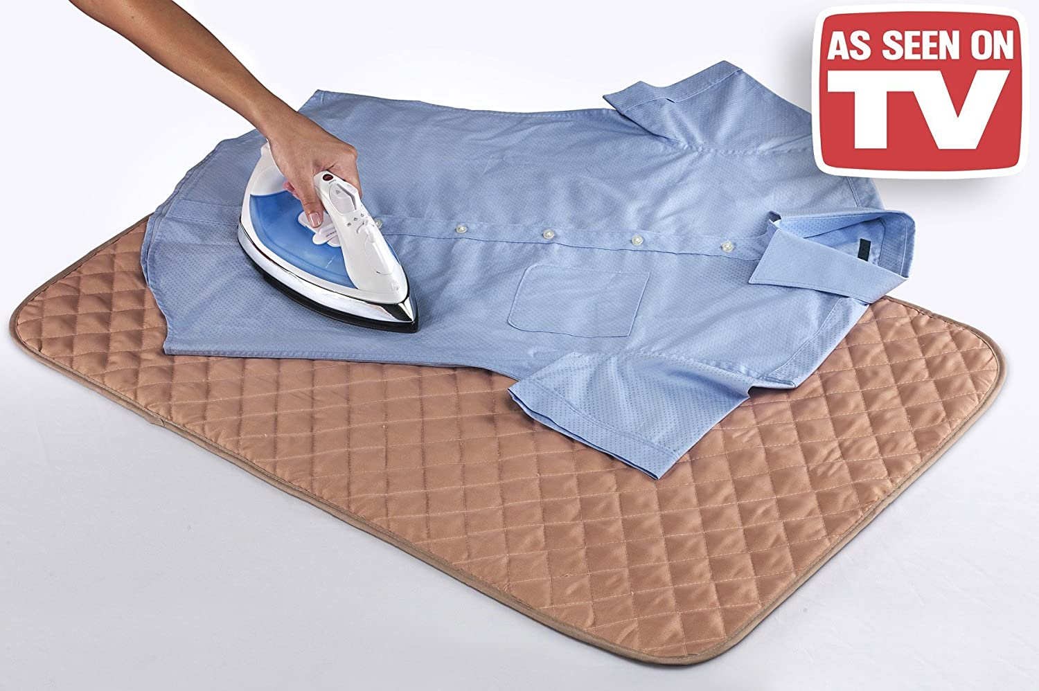 As Seen on TV IRONEMO-MC24 Iron Express the Original Portable Ironing Pad