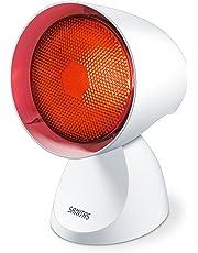 Sanitas SIL 16 Infrarotlampe, Intensiv-Infrarotlicht zur Anwendung bei Erkältungen und Verspannungen