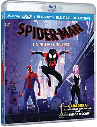 into the spider verse 3d blu ray amazon
