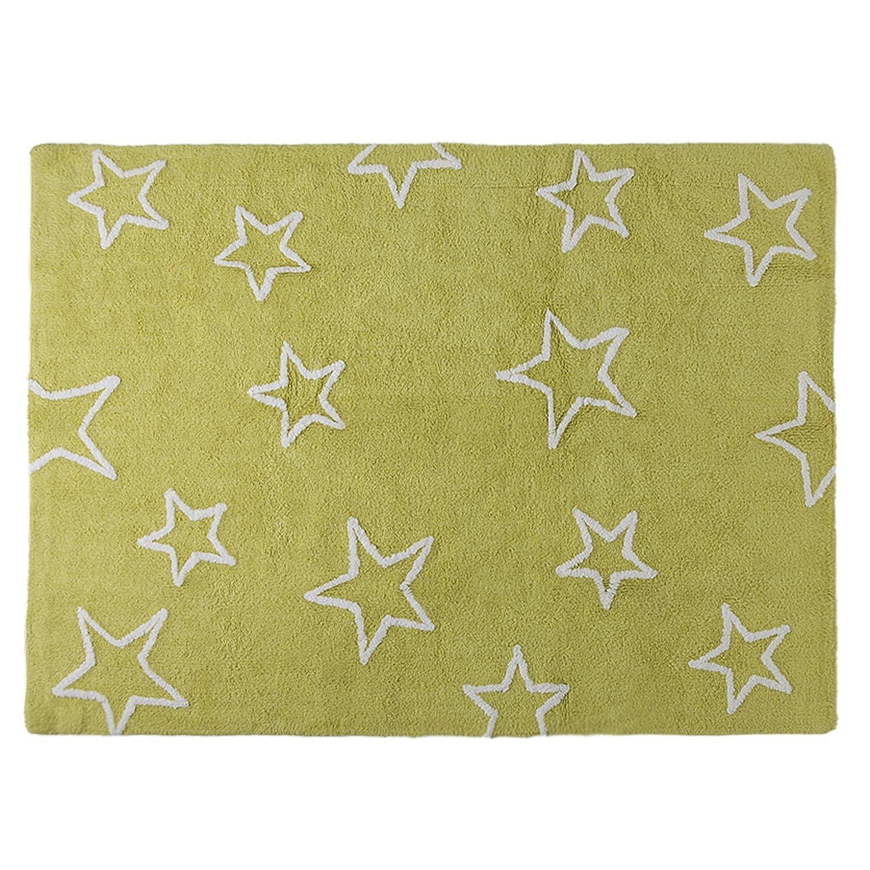 Lorena Canals Estrellas Washable Rug (Pistachio) Estrellas Pistachio C-44406