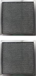 Replacement Aluminum Filters Compatible with Amana 83073, Estate 830732, Kitchenaid 830732, Rangeaire 610043, Whirlpool 830732,G-8158, -12-3/8 x 12-3/8 x 3/8 (2-Pack)